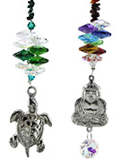 NYMBOIDA Pewter Suncatchers