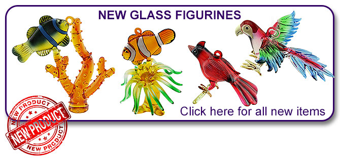 New Glass Figurines
