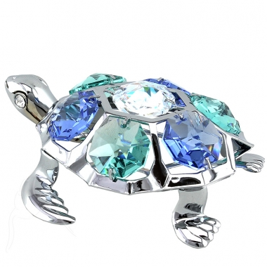 Crystocraft Turtle - Silver