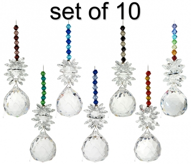 Cluster on Sphere - set of 10