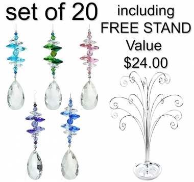 Almond Drop - set of 20 incl. FREE stand