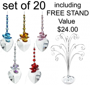 Sweetheart - set of 20 incl. FREE STAND
