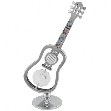Crystocraft Guitar - Silver