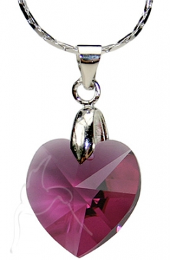 SPECIAL - Swarovski Necklace - Small Heart - AM