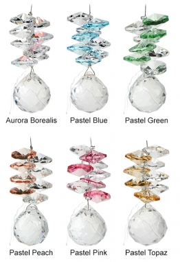 Mini Pastel Sphere - set of 20 incl. 2x FREE HANGERS