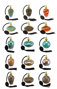 Perfume Bottles - Set of 15 (1 of each)