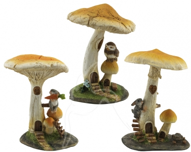 Toadstool - set of 3