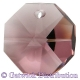 Star Crystals Octagons - 14mm 1 hole - LAM - Tray of 50