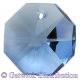Star Crystals Octagons - 14mm 1 hole - LSA - Tray of 50