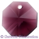 Star Crystals Octagons - 14mm 1 hole - AM - Tray of 50