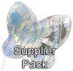 Swarovski Elements Butterfly Beads - 8mm AB - Supplier Pack