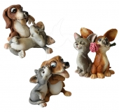 Cat & Dog - Best Friends - set of 3
