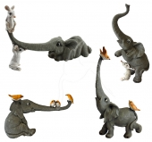 Elephants - set of 4