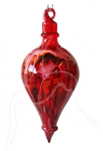 Painted Bubble - Shape 529 - Red