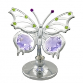 SPECIAL - Crystocraft Mini Angelwing Butterfly - Silver