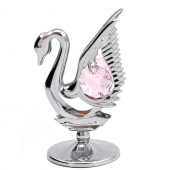 SPECIAL - Crystocraft Mini Swan - Silver