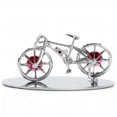 Crystocraft Bicycle - Silver