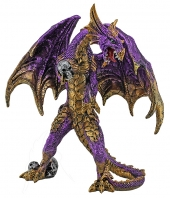 Purple Standing Dragon