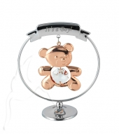 Crystocraft Teddy Bear - It's a Boy - Rose Gold