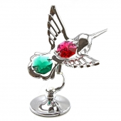 SPECIAL - Crystocraft Hummingbird - Silver