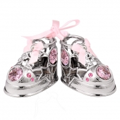 Crystocraft Baby Shoes - Pink