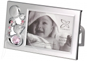 Crystocraft Photo Frame - Duckling - Pink