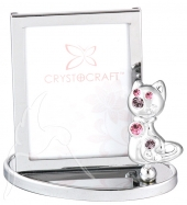 Crystocraft Photo Frame - Cat