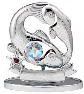 Crystocraft Zodiac - Silver - Pisces