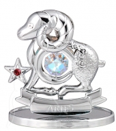 Crystocraft Zodiac - Silver - Aries