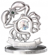 Crystocraft Zodiac - Silver - Cancer