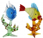 SPECIAL - Fish on Coral - set of 6
