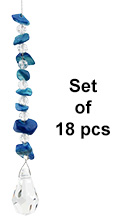 Gem Charm - set of 18