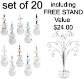SPECIAL - Sphere - set of 20 incl. FREE STAND