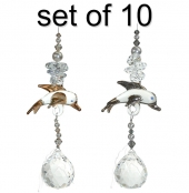 Dolphin Charm - set of 10