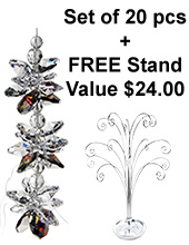Jackie H. II - set of 20 incl. FREE STAND