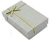 Gift/Jewellery Box - Silver - set of 12