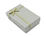 Gift/Jewellery Box - Silver - set of 24