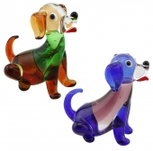 Sitting Dogs - set of 6