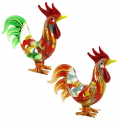 SPECIAL - Cheeky Fran's Roosters - set of 6