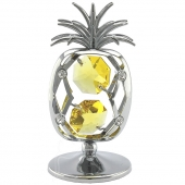 Crystocraft Pineapple - Silver
