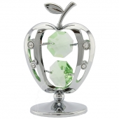 Crystocraft Apple - Silver