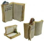 Animals on Books - set of 3