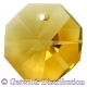 Star Crystals Octagons - 14mm 1 hole - LTO - Tray of 50