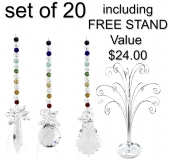 Chakra Galaxy - set of 20 incl. FREE STAND
