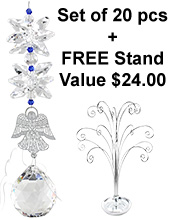 Heavenly Angel - set of 20 incl. FREE STAND