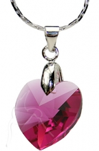 ONLINE SPECIAL! Swarovski Necklace - Small Heart - FU