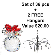 Dragonfly Sphere - set of 20 incl. 2x FREE HANGERS