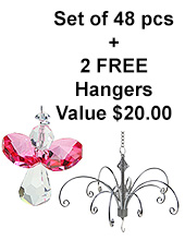 Little Flying Angel - set of 48 incl. 2x FREE HANGERS