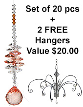 Lucky Dazzle -  set of 20 incl. 2x FREE HANGERS