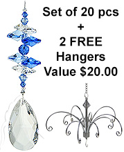SPECIAL - Almond Drop - set of 20 incl. 2x FREE HANGERS
